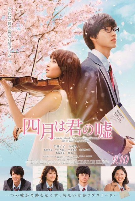 >Shigatsu wa Kimi no Uso (2016) เพลงรักสองหัวใจ ตอนที่ 1-3 ซับไทย
